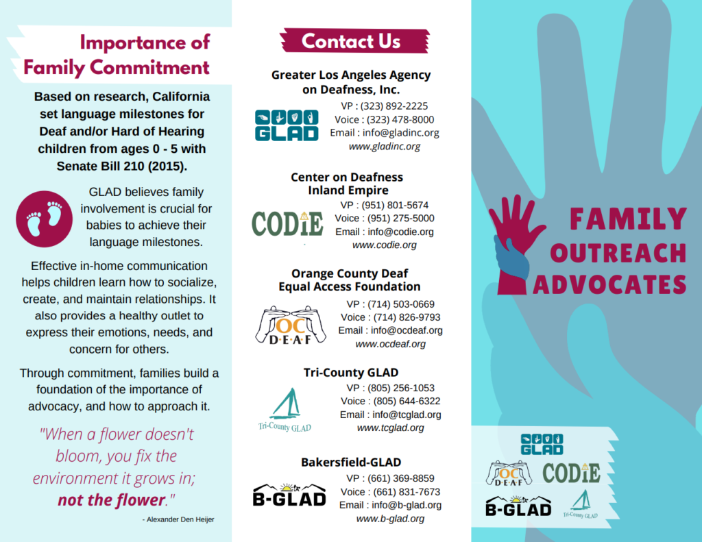 Download our Family Outreach Advocates Brochure